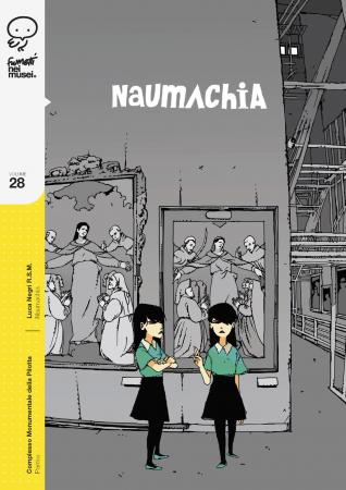 Naumachia nel Complesso Monumentale della Pilotta un fumetto di Luca Negri R.S.M.un progetto del Ministero dei beni e delle attività culturali e del turismo